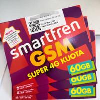 Kartu perdana smartfren 60GB