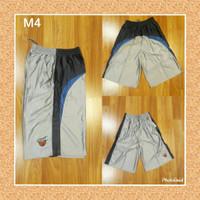 Celana kolor santai pria bahan paragon size xl untuk olahraga Basket