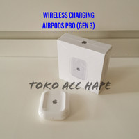 WIRELESS CHARGER CHARGING ADAPTOR AIRPOD AIRPODS PRO (GEN 3) TERMURAH
