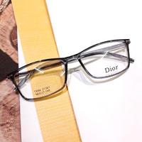kacamata minus frame DIOR bahan lentur warna grey unisex free lensa
