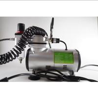 Mini Air Compressor KENTARO 1/6 pk Kompresor Mini Air Brush Listrik