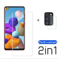 PROMO Tempered Glass Samsung A21s Pelindung Layar & Kamera Belakang