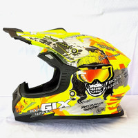Helm Gix Cross / Hunter / Yellow Flou