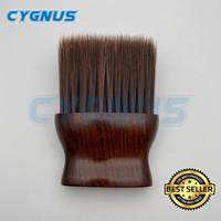 Kuas Barber Brush Premium Wood size M