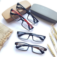 kacamata poshe paket lensa bluecromic grey minus cylinder