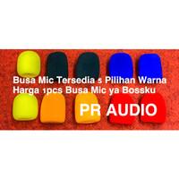 Busa Mic / Busa Microphone Harga 1 Pcs Busa Mic Tersedia 5 Warna ya