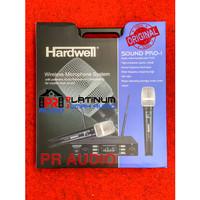 Mic Wireless HARDWELL SOUND PRO1 / SOUNDPRO1 ORIGINAL 2 Mic Handheld !