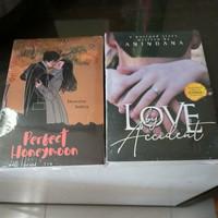 Paket 2 Novel Wattpad Love by Accident & Perfect Honeymoon