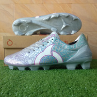 Ortuseight Catalyst Legion FG (Sepatu Bola) - Silver/Rainbow/White