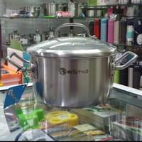 Panci Sauce Pot Estio Pro D22cm w/glass lid, Zebra Thailand, SUS304