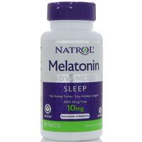 natrol melatonin 10mg 10 mg time release isi 60 tabs
