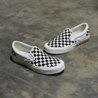 Vans SlipOn Vault OG CheckerBoard Black White