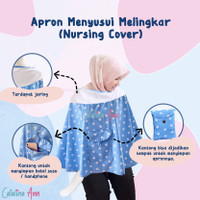 Apron Menyusui Melingkar Jaring / Nursing Cover
