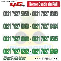 Nomor Cantik Simpati telkomsel 4G LTE seri Abab