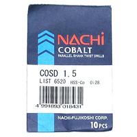 mata bor nachi hss-co twist drill 1.5mm shank drill bits hss cobalt