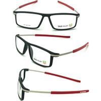 kacamata pria model sporty paket lensa minus/plus/cylinder/ radiasi