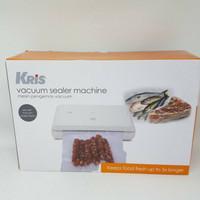 mesin vacuum sealer kris alat vakum pembungkus plastik makanan Mini