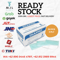 Diapro Masker isi 50 3ply
