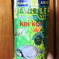 AKARI TURTLE VIT 100 GRAM PAKAN MAKANAN KURA-KURA