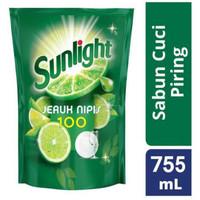 sunlight sabun cuci piring jeruk nipis 755 gram
