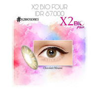 Softlens X2 Bio Four Chocolate Mousse