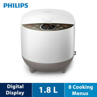 Rice Cooker Digital Fuzzy Logic 1.8L Philips - HD4515