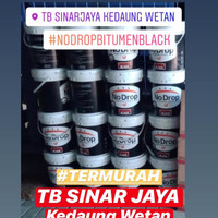 NO DROP BITUMEN BLACK 20KG PELAPIS ANTI BOCOR CAT WATERPROOFING 20 kg