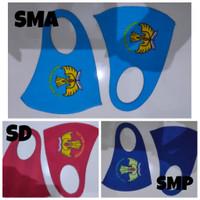 MASKER scuba motif tutwurihandayani 3 Varian SD,SMP,SMA jual satuan