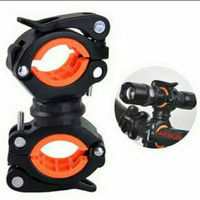 Bracket/Holder Senter Sepeda Quick Realese