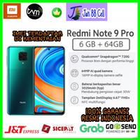 Xiaomi Redmi Note 9 Pro 6/64 Garansi Resmi Indonesia TAM 1Tahun