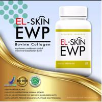 Pemutih Wajah Pria da Wanita - EL SKIN EWP Suplemen Kesehatan Kulit