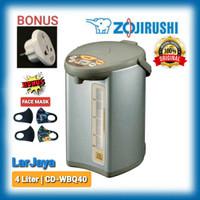 Termos Listrik/ Electric Pot ZOJIRUSHI 4 liter CD-WBQ40.TS