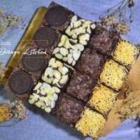 Brownies Panggang Dirayu Mix Topping 20x20cm