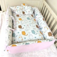 Babynest bayi-kasur set bayi-matras bayi-tempat tidur bayi-cat