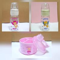 Chicco Neonata Milk bottle & Travel Milk Powder Container Set 2 + 1