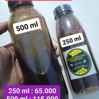 Madu Hutan Asli 250 dan 500 ml.