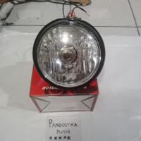 LAMPU DEPAN CB100 PESEK REFLEKTOR CB100 PESEK