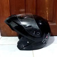 helm kyt rrx modular black solid