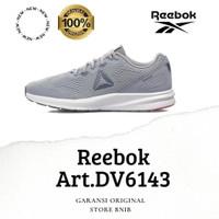 SEPATU WANITA RUNNING ORIGINAL 100% REEBOK ART DV6143 GREY MURAH