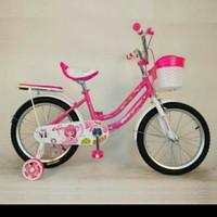 "sepeda mini anak 16"" daisy evergreen/sepeda tricycle mini"