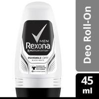 REXONA Men Deodorant pria Roll on Invisible Dry 45ml