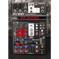 Mixer Audio PEAVEY PV6BT / PV 6BT / PV6 BT PV 6 BT ORIGINAL Bluetooth