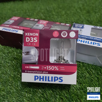 Philips D3S HID X-tremeVision plus 150% 3 years warranty
