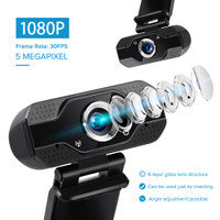 V8 Full Hd Webcam 1080P With Microphone Web cam FULL HD 1080 P