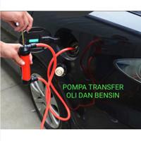 Pompa Transfer Bensin Oli sedot manual 5L/min