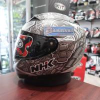 NHK GP Pro Karel Abraham Silver Matt / Dof