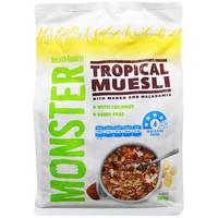 Monster Tropical Muesli with Mango & Macadamia 700 Gr