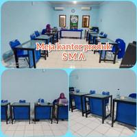Meja Kantor Minimalis / Meja Simpel / Meja Meja Kerja Simpel