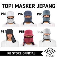 BISA KIRIM GOJEK - TOP MASKER JEPANG - TOPI MANCING - TOPI KEBUN MURAH