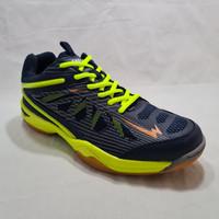 Sepatu Badminton Eagle Commando - Biru Citrun, 39